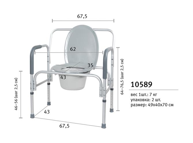 Туалет для инвалида своими руками